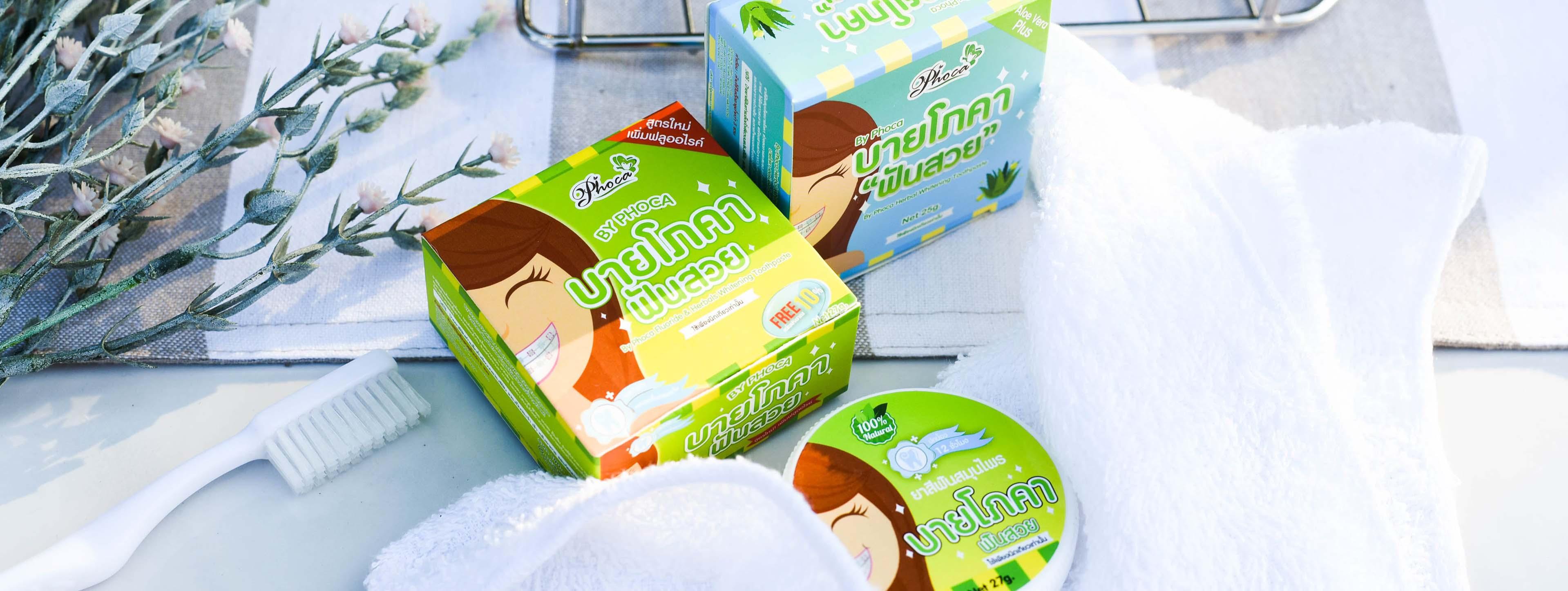 kem đánh răng phoca thái lan
