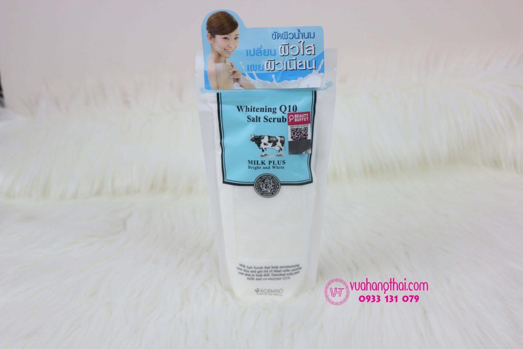 muối tắm trắng whitening Q10