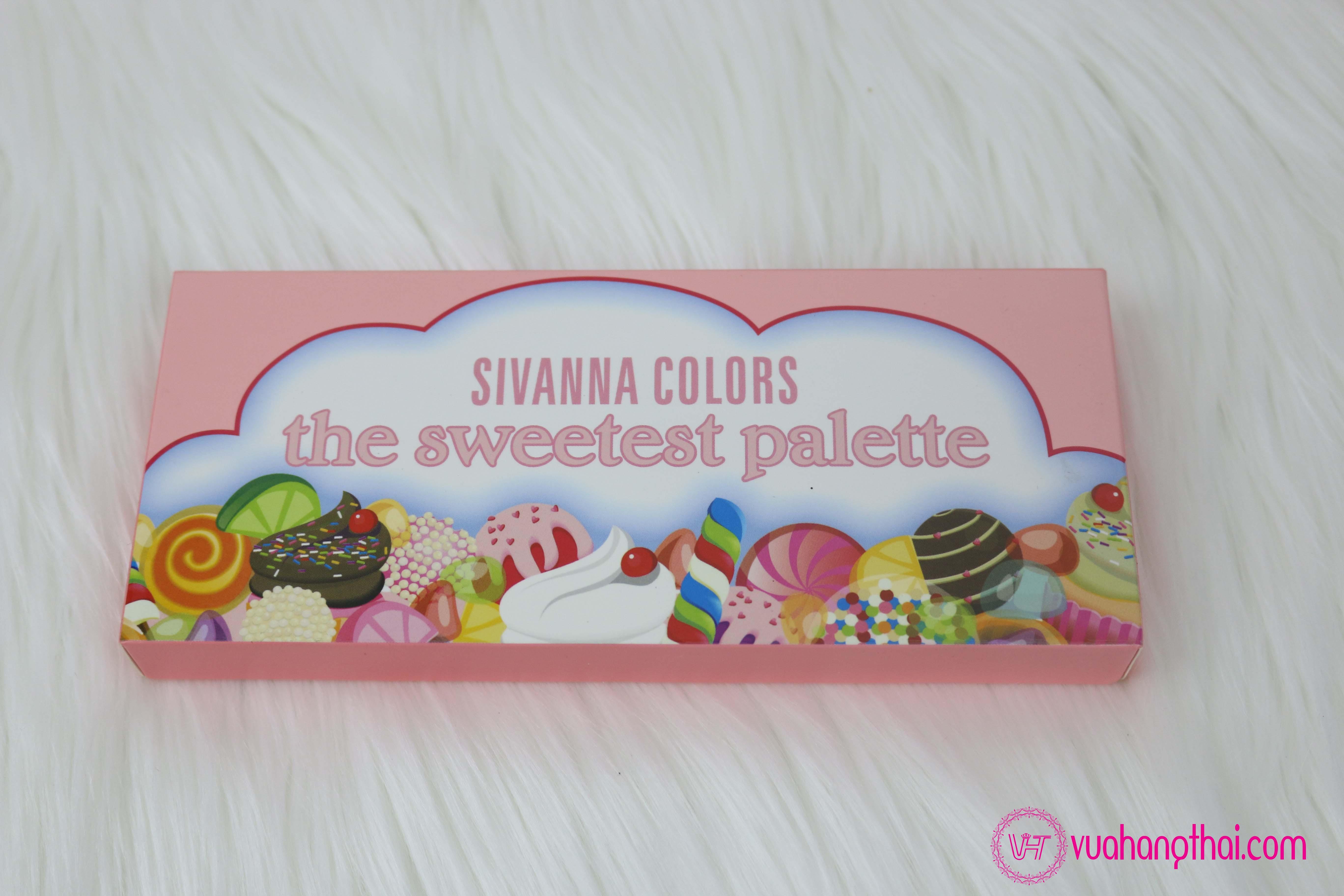 bảng phấn mắt 18 ô Sivanna Palette The Sweetest Palette