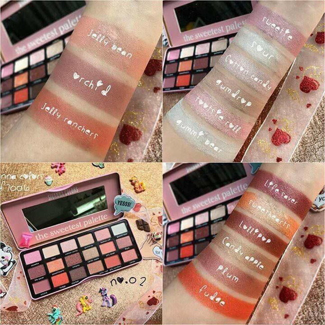 bảng phấn mắt cao cấp The Sweetest Palette
