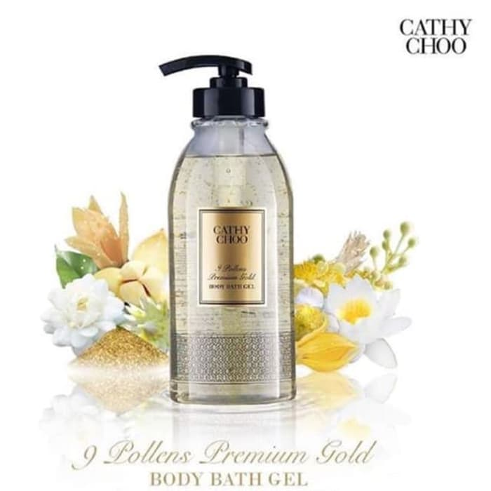 Cathy Choo 9 Pollens Premium Gold Body Bath Gel