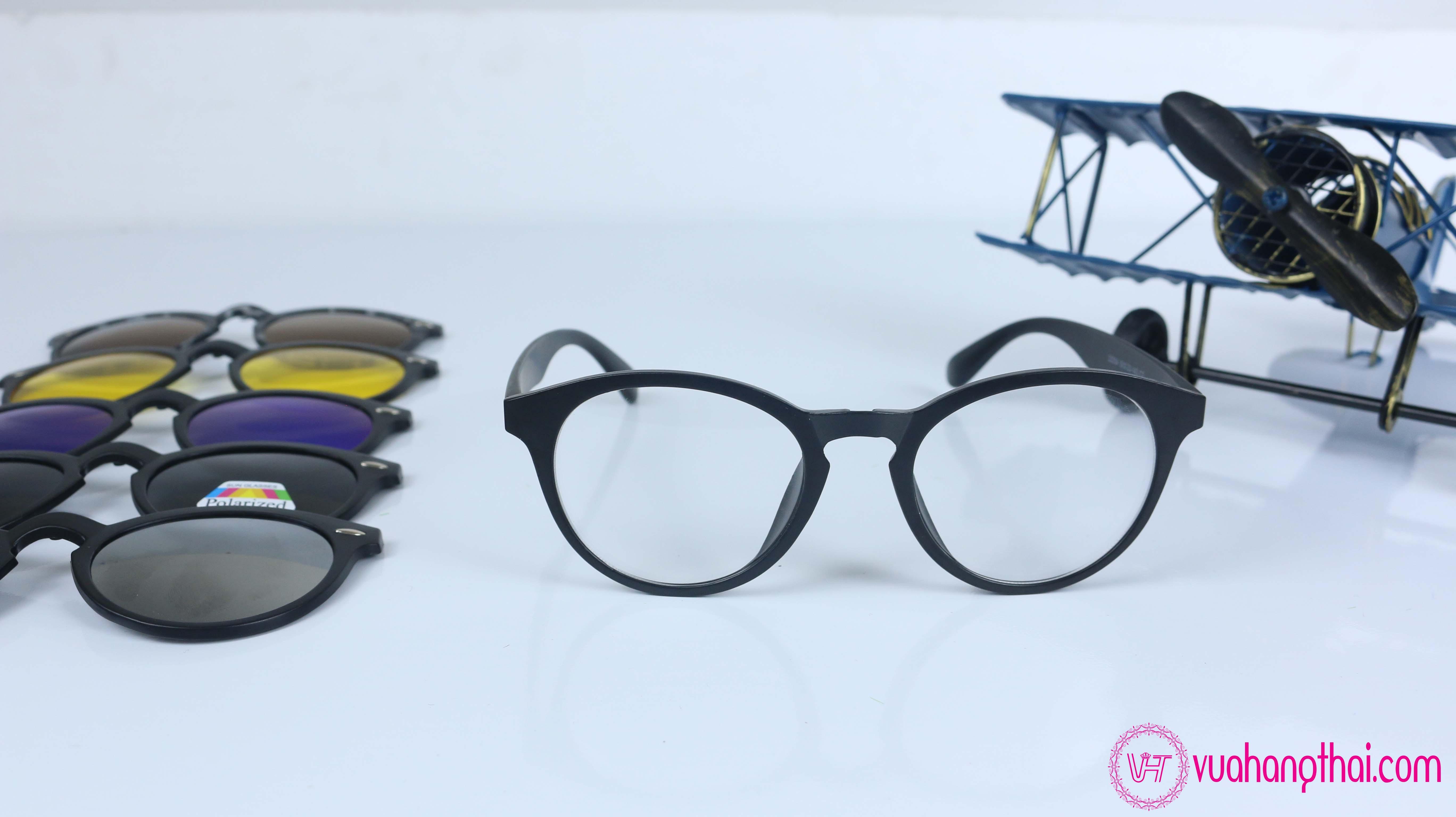 mắt kính đa năng thời trang 5 in 1