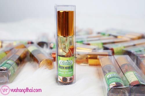 Dầu Gió Thái Lan Green Herb